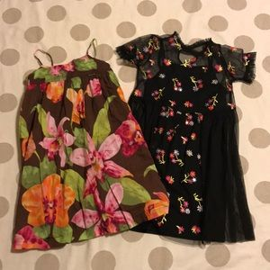 GAP • Art Class girls floral dress bundle